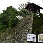 裏門櫓跡(時鐘)