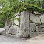 内下馬門付近の石垣