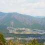 関ヶ原合戦開戦時陣地を見下ろす
