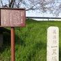 美濃路一里塚跡碑