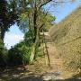 山城への階段