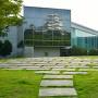 兵庫県立歴史博物館と姫路城[提供:姫路市]