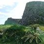 今帰仁城の石垣