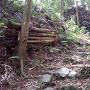 直谷城 二の木戸跡