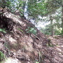直谷城 一の木戸跡