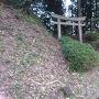 弓木城の登城口