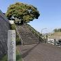 本覺寺山門下と権現山城