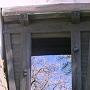 化粧櫓から見た本丸の桜