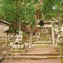 落合神社(登城口?)