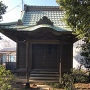 跡地に建つ妙見神社