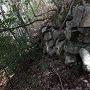 十の曲輪下の石垣