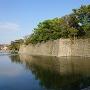 石垣と堀です