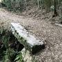 四十八曲がりの矢穴の橋