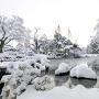冬の兼六園[提供:金沢市]