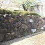 詰めの段 石垣