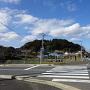 神崎城(東の城)遠景