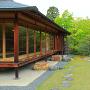 好古園 御茶室「双樹庵」と庭園
