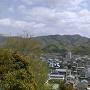 篠の丸公園から聖山城を望む