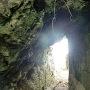 主郭入口の洞門