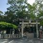 城跡にある須佐神社