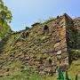 本丸石垣(北東側)