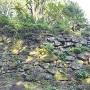 井戸曲輪石垣