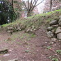 二の丸北西口の石垣
