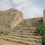 三の郭の石階段