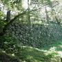 土橋側面石垣