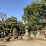 城前寺境内