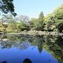 五島氏庭園 心字ヶ池