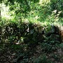本丸跡下の石垣
