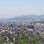 千葉城から見た小城陣屋
