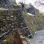 本丸の素晴らしい石垣