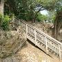 伊祖神社の登り口