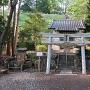 穂見神社と石碑