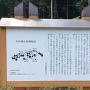 駐車場にある有田城と有田合戦の説明