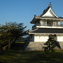 城跡の模擬櫓(展望台)