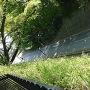 大手口付近から撮影した堀