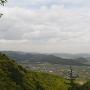 兵糧道からの眺望