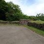 三の丸跡の穴太積石垣