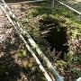 井戸曲輪の井戸跡
