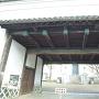 茶臼山そばにある旧福岡黒田藩屋敷長屋門