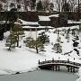 雪の玉泉院丸庭園