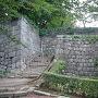 桜門跡の虎口