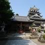 模擬天守と奥平神社