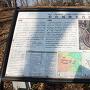 武蔵松山城本郭にある案内図