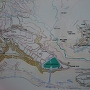 岩櫃城の詳細な縄張り図2