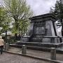 銅像の台座