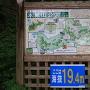 本城山公園の看板